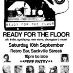 Follow Follow Follow @ready4thefloor next night will be on Sat 10th Sept, 10pm to late, #free entry! #Manchester https://t.co/b5HVI8H9iM
