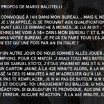 Ces anecdotes sur Mario Balotelli racontées par José Mourinho... https://t.co/GgXok3DWyu