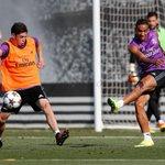 .@fedeevalverde entrenó con la primera división del @realmadrid donde estaban, entre otros, Ronaldo y Benzema. https://t.co/7qxSkVNM7i