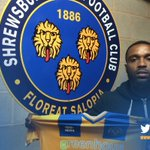 DONE DEAL: Shrewsbury Town are delighted to announce that Sylvan Ebanks-Blake has signed on a 6 month loan #salop https://t.co/5rSMpn7gMw