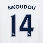 Georges-Kévin N'Koudou avec ses nouvelles couleurs de Tottenham. Il portera le numéro 14. https://t.co/iM7eK8AMa3