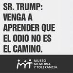 #SrTrumpConTodoRespeto, lo invitamos a que nos visite. #TrumpAlMuseoMyT https://t.co/igIRoarleL