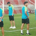 Los jugadores de la @CyDLeonesa ya están en el Campo de San Lorenzo #CopadelRey https://t.co/sgEEcebtlE