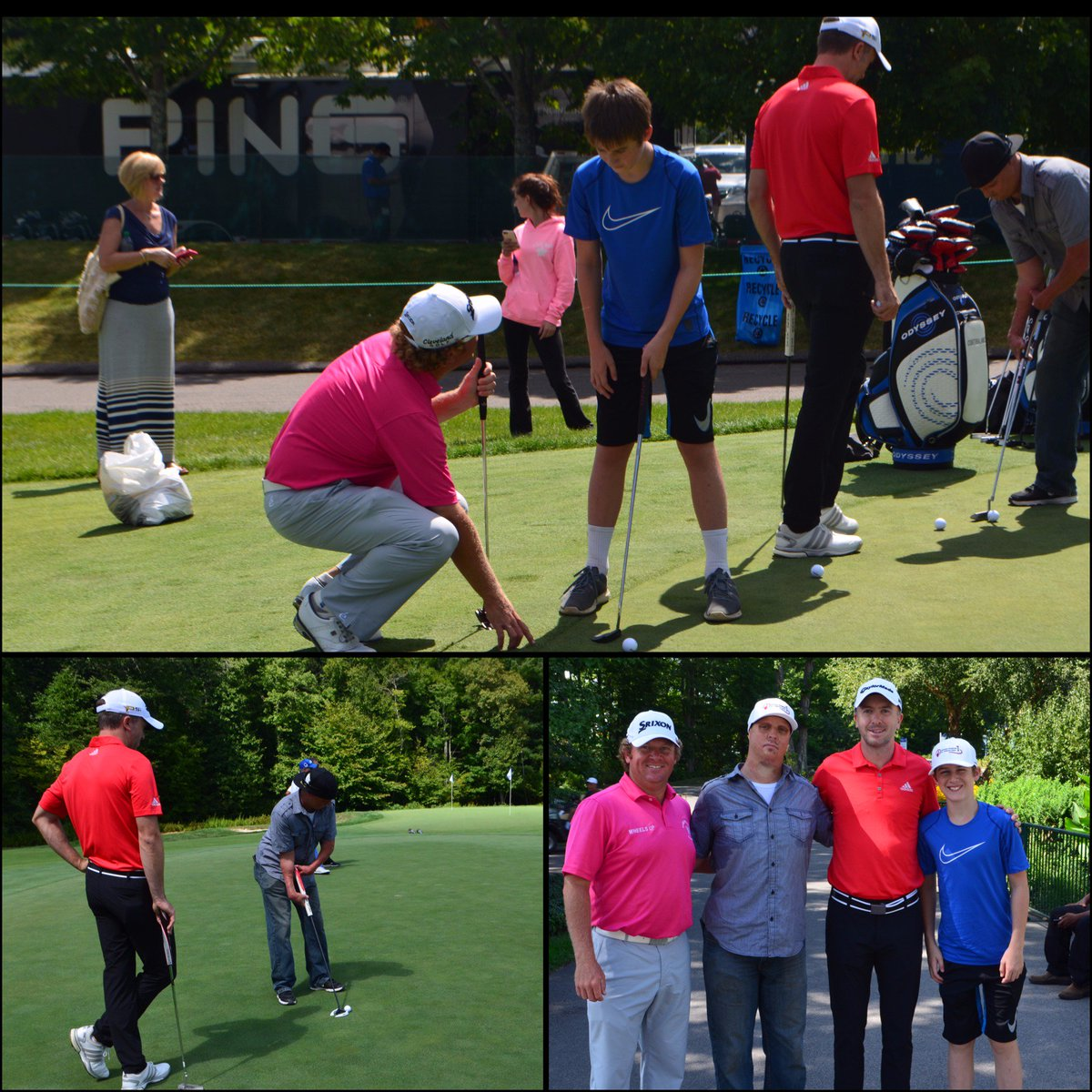 Two Boston @shrinershosp patients had the chance to putt w/ @PGATOUR pros @WilliamMcGirt & Martin Laird @TPCBoston! https://t.co/FKb8RSDm4u