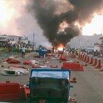 Au quartier PK8 les forces de lordre ont fui. #Gabon2016 https://t.co/ZWt1i2VKHU