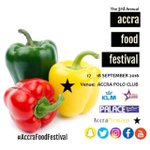 Be sure to join us @ the Accra Food Festival! September 17 & 18 at the Accra Polo Club, 11AM-7PM. #AccraFoodFestival https://t.co/4GzsI690yj
