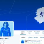 David Luiz has already changed his Twitter ahead of completing his move to Chelsea. (Source: @DavidLuiz_4) https://t.co/4dOB7MkpVY