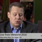 Paul, what is HPE OneView? #CUBEgems @HPE @VMworld #VMworld #theCUBE https://t.co/UVURDFJxDo