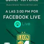 ¡Presentación de Javier Torrente EN VIVO a través de Facebook Live por TV4! A las 3:00 pm... #SoyFier4 #LoVíEnTV4 https://t.co/nOxlWQ1hQG
