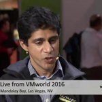 Aaditya, what are some of the areas of complexity youre facing? #CUBEgems @aaditya @calm_io #VMworld #theCUBE https://t.co/4HpN1DbPGR