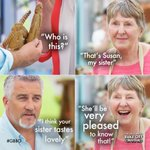 """Your sister tastes lovely…"" #BiscuitWeek #GBBO https://t.co/JeS5KRsGTn"
