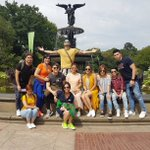 #SerTenKyondiAnMORE Central Park New York with LizQuen lovers #PushAwardsLizQuens ©to https://t.co/Y25An2EPpu