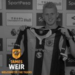 Hull City have signed midfielder James Weir on a permanent basis, three-year deal. #DeadlineDay #MUFC https://t.co/uVgYqANL2B