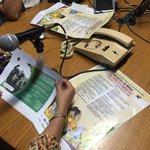 """Difundiendo convocatoria del concurso de cuento """"Historias de Niñas Extraordinarias"""" en @RadioUV @ComSocialXalapa https://t.co/xgk1WA12wh"""