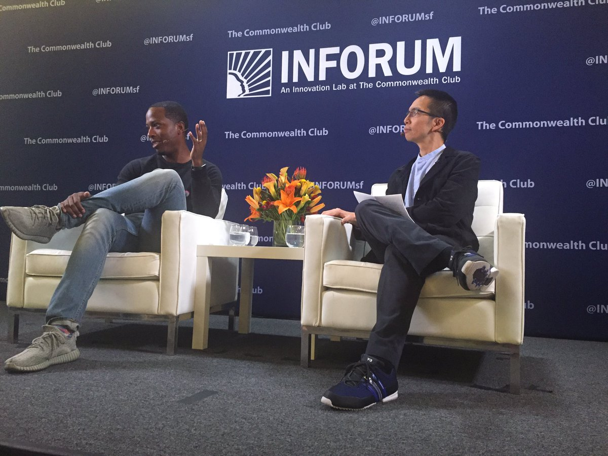 "Shout out to @inforumsf for doing ""skin tone"" microphones the *right* way."