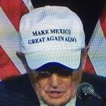 "Giuliani rockin a ""Make Mexico Great Also"" hat is priceless... https://t.co/vDTErlAJco"