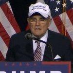 Rudy Giuliani wears Make Mexico Great Again Also hat at Donald Trump rally https://t.co/a5HkO8l4YF https://t.co/cIHHkTzAJB