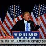 My Man @realDonaldTrump Killing It LIVE #BuildTheWall #TrumpPence16 #immigration @CNN @FoxNews @ABC @NBC @BBC #MAGA https://t.co/ovftDcyH0f