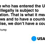 Donald Trump isnt softening up his immigration approach after all. https://t.co/XqZ0Y2StuY https://t.co/d4E8ws6qOs