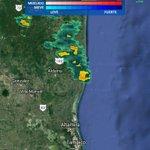 Precipitación: moderada cerca Aldama con dirección al Sur. Atención: #Tampico nuevas áreas lluvia pudieran formarse. https://t.co/ESdUcwkCx9