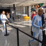 #Eliminatorias | La delegación de @Uruguay llegó a Mendoza, Argentina. En breve partirá al hotel Hyatt. https://t.co/SOYMC13O2E