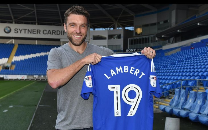 Welcome to Cardiff City Rickie Lambert. 2 year deal. Not a loan. https://t.co/TwTp1spmqj