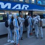 #Eliminatorias | @Uruguay llegó a Mendoza y se instaló en el hotel Hyatt. Mañana 20:30 h enfrentará a @Argentina. https://t.co/Y6oJmMZHkV