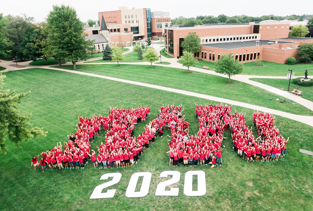 Introducing the Class of 2020! #IWU https://t.co/VkmgO9dTlY