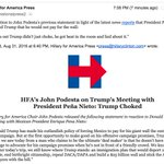"""""""It turns out Trump didnt just choke, he got beat in the room and lied about it."""" —@JohnPodesta https://t.co/YgGN3HG7Hx"""