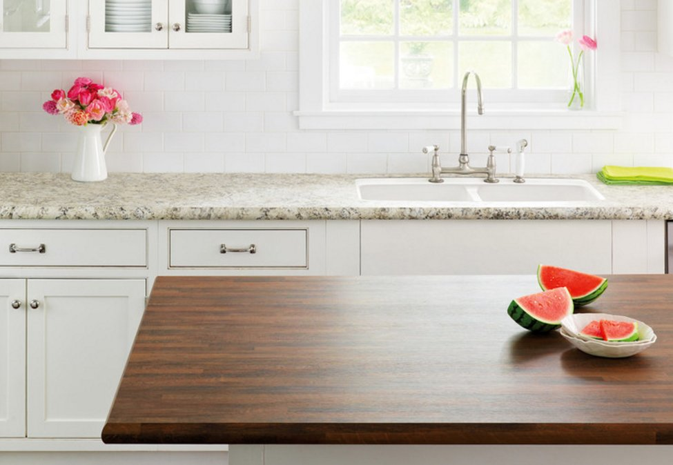 .@houzz reports 1 in 4 consumers use more than 1 countertop material in kitchens. RT if you like this #designtrend! https://t.co/TSZ9gmkM83