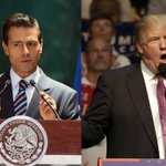I told Donald Trump Mexico will not pay for the wall, President Enrique Peña Nieto says https://t.co/v3nJppToaO https://t.co/15WnRtBmjh