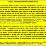 OUR OFFICIAL STATEMENT REGARDING ALDUBS TELESERYE. PLEASE READ IN ITS ENTIRETY. #ALDUB59thWeeksary https://t.co/flA6v0DBPv