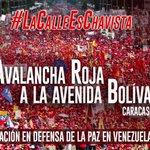 NicolasMaduro: RT VTVcanal8: ¡Asiste! 👦🏽👧🏽👨🏽👩🏽👴🏽👵🏽  Gran Marea Roja este 1° de septiembre. Pueblo en la #CalleEsCh… https://t.co/t5ZiOy76yM