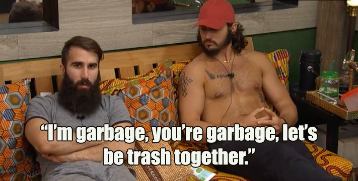 Perhaps the best pick up line ever? #BBDatingTape #BB18 https://t.co/AhSqp2U9XT