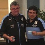Los colaboradores del Cuerpo Técnico de @Uruguay también se hicieron Socios Celestes. https://t.co/hhZbxeHjNA