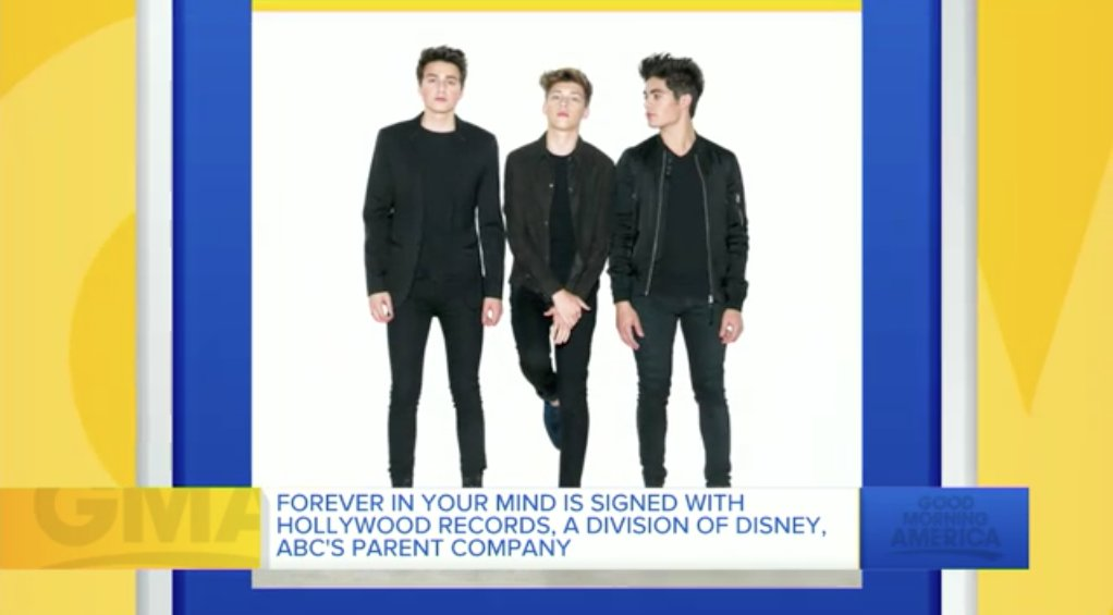 Our congrats to alumni guitarist #YutaHanada and drummer #MichaelSouthcomb for performing with @OfficialFIYM on @GMA https://t.co/94wUZGBhoJ