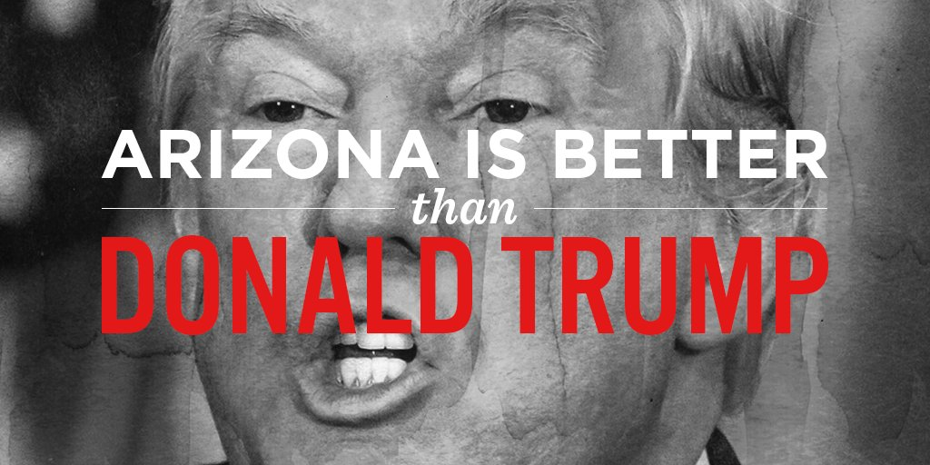 Arizona's strength comes from our diversity. RT to tell Trump you're proud to welcome immigrants https://t.co/aT43JjqzRz