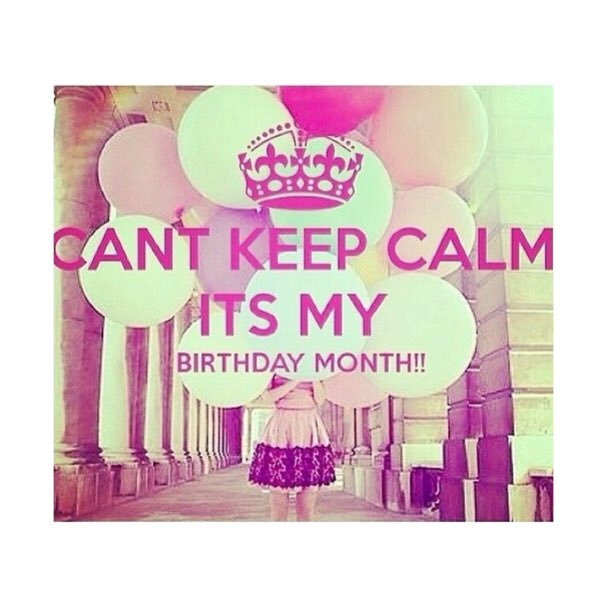 Keep Calm Its My Birthday Month September