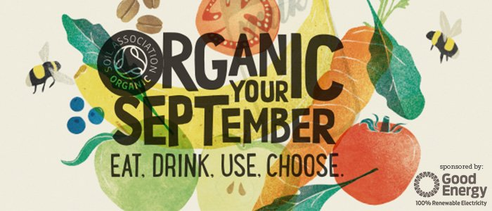 The UK's biggest celebration of all things organic is finally here! What do you have planned this #OrganicSeptember? https://t.co/VXxAxOCe5G
