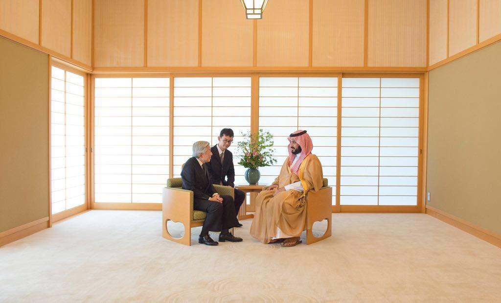 تعريف البساطة: غرفة الإستقبال لإمبراطور اليابان