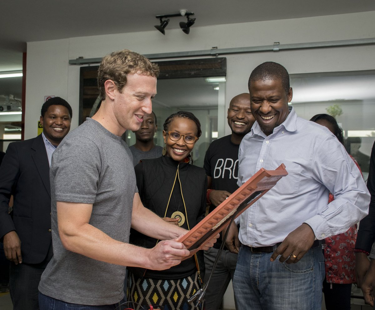 Great to have Mark Zuckerberg visit us today @brcknet @gearboxKE @iHub https://t.co/VgRRQC6hlm
