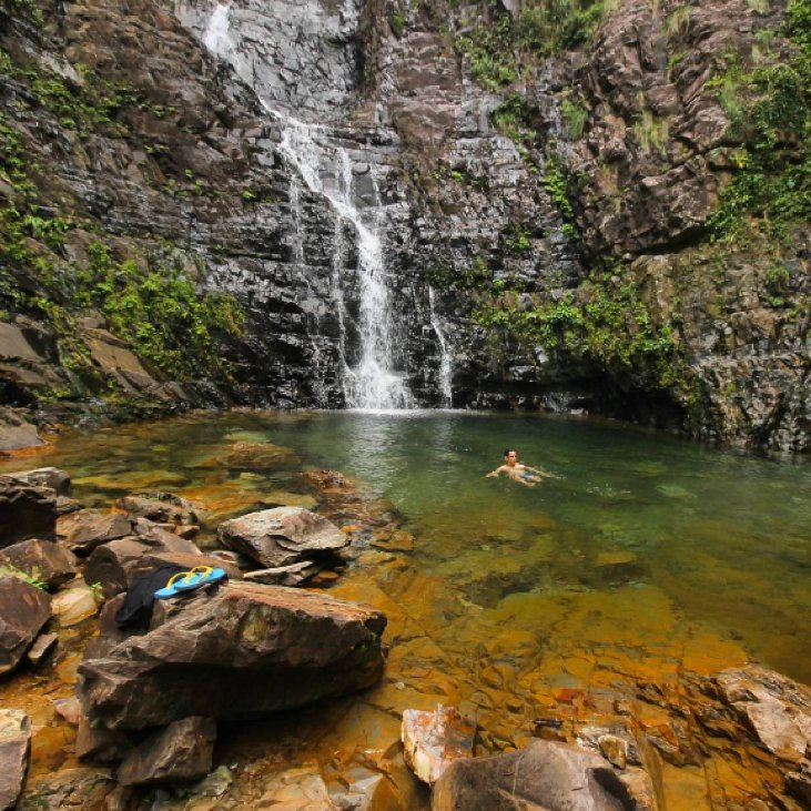 Temurun waterfall is the tallest waterfall in Langkawi.  By @eazytraveler  #MalaysiaTrulyAsia #TourismMalaysia https://t.co/CEpvDceHNq