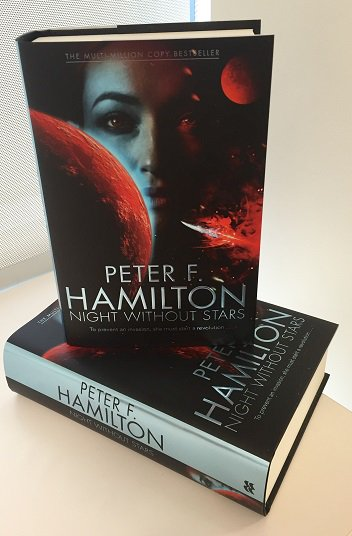 UK fans- win a SIGNED COPY of Peter F Hamilton's NIGHT WITHOUT STARS! RT& describe Peter's books in 3 words to enter https://t.co/fDvYXZ8ea0