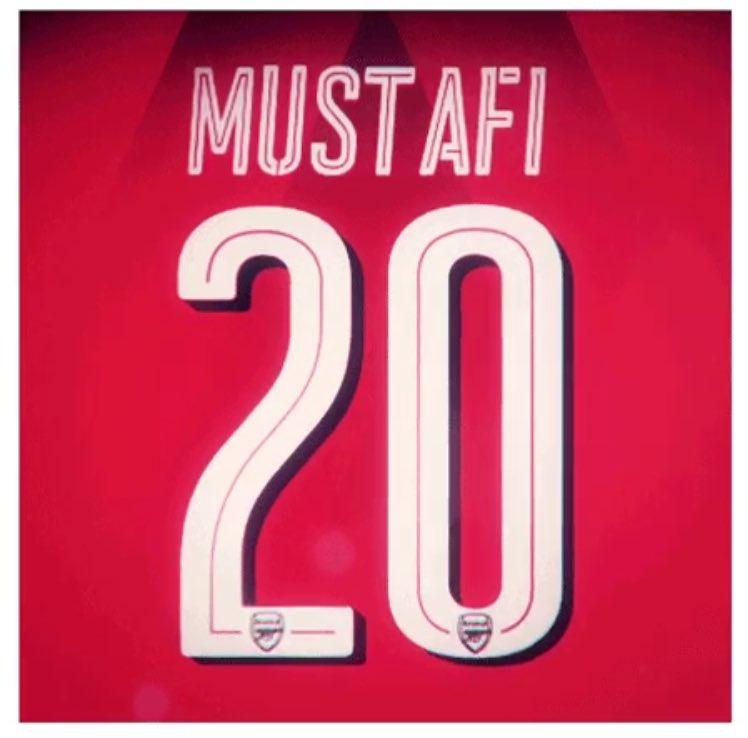 Maillot Extérieur Arsenal Shkodran Mustafi