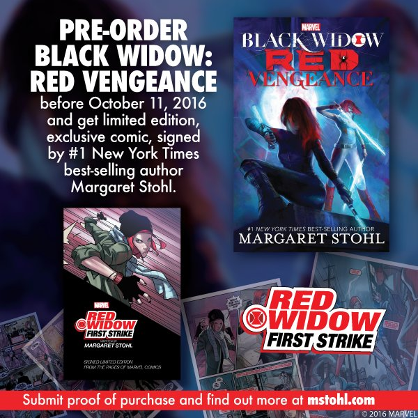 Want a SIGNED, LIMITED EDITION, EXCLUSIVE #RedWidow comic? Get yours here: https://t.co/rIb1UT3zNt https://t.co/iHgktpyBv6
