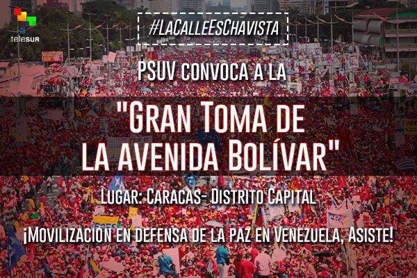 La canalla mediática se empeñará en invisibilizar al pueblo chavista  1 vez más, así q a comunicar x todas las vías https://t.co/H3gkNUrg5b