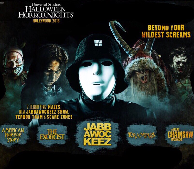 It's official @jabbawockeez are back 4 an all new show @unistudios #HalloweenHorrorNights #Hollywood #Sept16  #HHN https://t.co/GIOnVHzCR5
