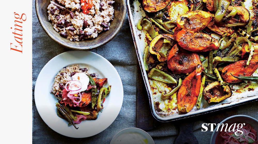 Check out my recipes in The Sunday Times Magazine today, a Caribbean inspired jerk-roasted veg @SundayTimesFood https://t.co/GwNNdTZCj0