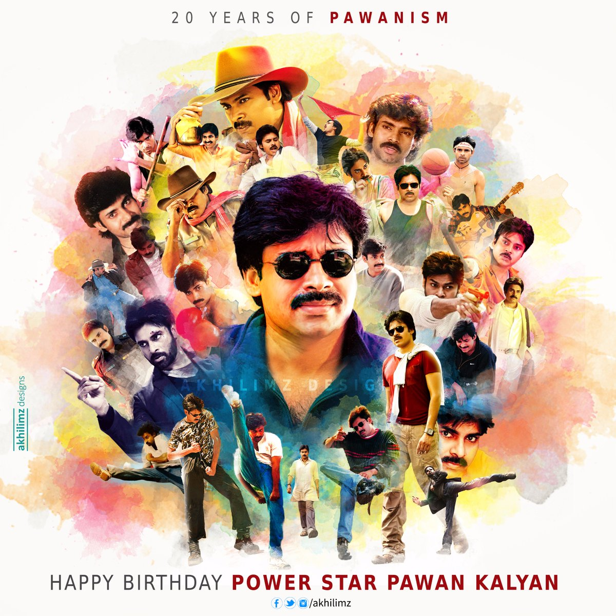 A tribute to a great humanitarian #Powerstar @PawanKalyan garu from #AkhilimzDesigns #CommonDp #HBDPawanKalyan https://t.co/1X2bErC1El