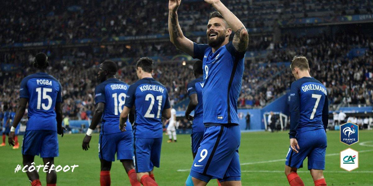 Tente de gagner le maillot des Bleus ! Pour jouer : 1 – Suis @tousuncotefoot 2 – RT #CôtéFoot #ITAFRA https://t.co/QyupiEGXfD